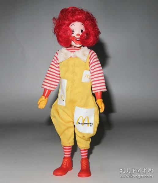 70年代香港制造绝版麦当劳玩具!麦当劳叔叔