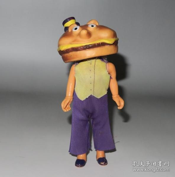 70年代香港制造绝版麦当劳玩具!芝士汉堡市长