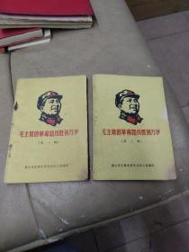 《毛主席的革命路线胜利万岁》(第一辑,第二辑)品相见图