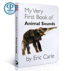 我的第一本动物叫声英文原版My Very First Book of Animal Sounds1-3岁宝宝绘本纸板书