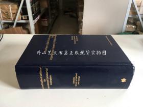 英文原版Fouchard,Gaillard&Goldman on International Commercial Arbitration (福查德盖拉德戈德曼论国际商事仲裁)