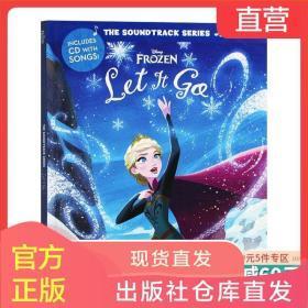英文原版 Frozen Let It Go The Soundtrack Series 迪斯尼原声系列 冰雪奇缘 冰雪奇缘主题曲歌词绘本 附CD 英文版原版英语书籍