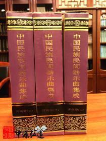 中国民族民间器乐曲集成(云南卷)上、中、下