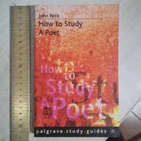 How to study a poet poetry understanding writing 如何研究诗歌 英文原版