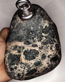 """陨石原石,纯天然顶级绝品陨石,来自外太空的陨石""""月海玄武岩溶橄榄石铁陨石"""",极为稀有罕见的""""月海玄武岩陨石"""",天外来客,天降珍宝,可遇不可求,国宝级,大块头,4斤多重,极为稀有,绝世陨石,值得永久收藏"""