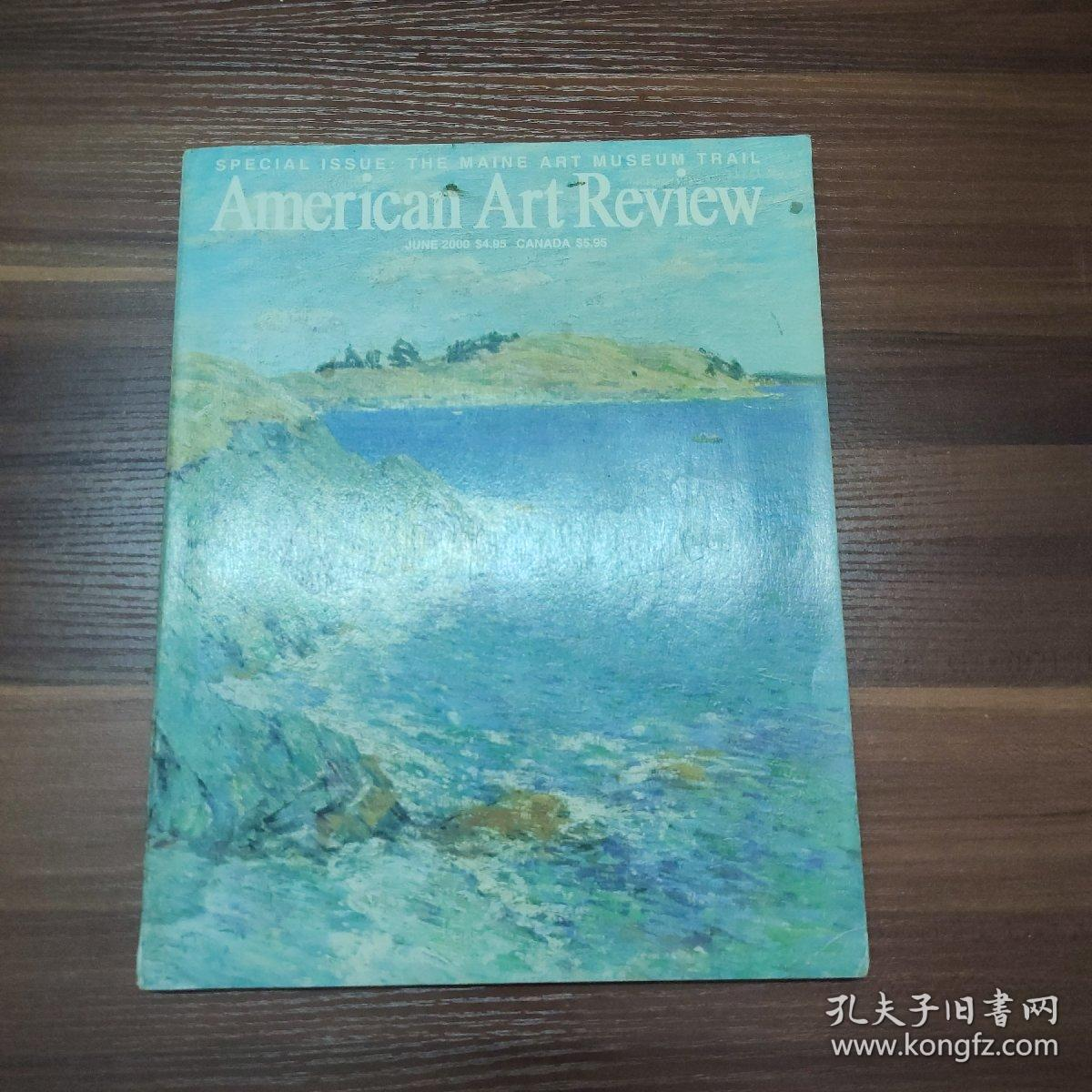 AMERICAN Art Review 美国艺术评论-2000-6--大16开