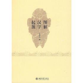 正版二手图解汉字起源王祥之北京大学出版社9787301157565