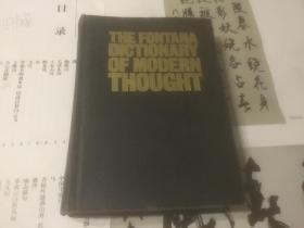 the fontana dicionary of modern though ;英文版;
