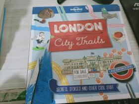 英文原版 City Trails - London