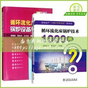 2册 循环流化床锅炉技术1000问+循环流化床锅炉设备与运行 锅炉基础知识运行设备事故处理方法指导书 锅炉结构工作原理流体动力学