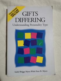 Gifts Differing:Understanding Personality Type【英文原版 小16开 有勾划字迹】