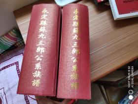 武功郡卢山堂永定县苏九三郎公系大宗族谱 (上下卷)