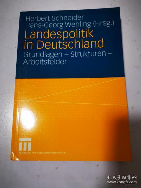 Landespolitik in Deutschland 德国的国家政策 德文原版