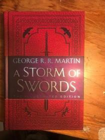 预售冰与火之歌第三部冰雨的风暴插画版美版A Storm of Swords: The Illustrated Edition