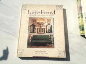Joanna Wissinger Lost  Found(原版正版外文版书,16开精装1本。详见书影)