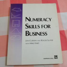 NUMERACY SKILLS FOR BUSINESS 英文原版:商业计算技能【内页干净】
