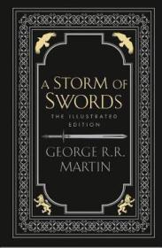 预售冰与火之歌第三部冰雨的风暴插画版英版A Storm of Swords: The Illustrated Edition
