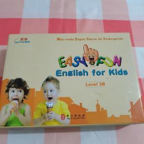 易趣幼儿英语 Level 3 B(1光盘+4学生课本+活动手册+11张贴画家庭环创用品)