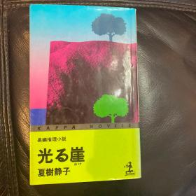 光与崖 夏树静子 日本推理小说之母 日文原版 全网唯一 典藏