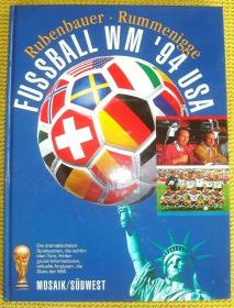 原版1994世界杯全彩硬精画册