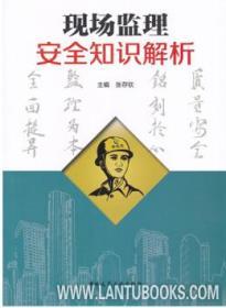现场监理安全知识解析 9787112240845 张存钦 中国建筑工业出版社 蓝图建筑书店