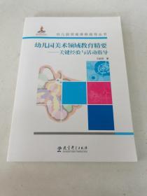 幼儿园领域课程指导丛书:幼儿园美术领域教育精要——关键经验与活动指导  (光盘)