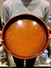 大漆茶拖盘