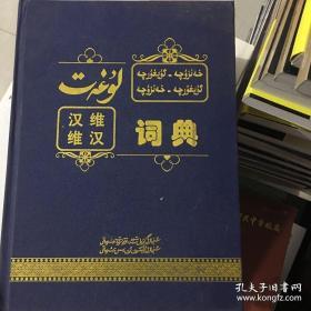 汉维.维汉词典(重7公斤)