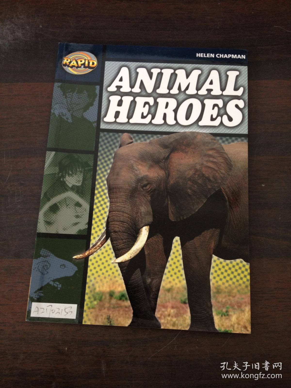 【外文原版】Animal Heroes-动物英雄