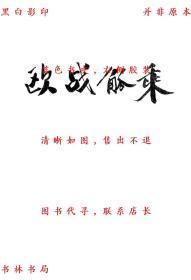 【复印件】欧战觚乘-汪启坤-民国华洋公论报出版部刊本