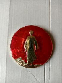 毛主席去安源(1968.1)~直径5.8厘米