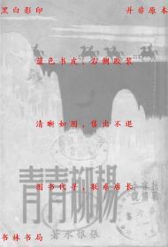 【复印件】杨柳青青-张恨水-民国山城出版社刊本