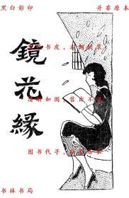 【复印件】新式标点镜花缘-大中书局-民国大中书局刊本