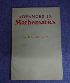 Advance in Mathematics( volume 23)数学中的进阶