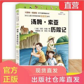汤姆索亚历险记快乐读书吧六年级下册必读课外书语文人教经典书目