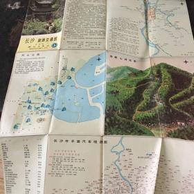 长沙旅游交通图