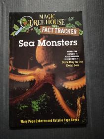 Sea Monsters: A Nonfiction Companion to Dark Day in the Deep Sea(Magic Tree House#17)神奇树屋小百科系列17:海怪