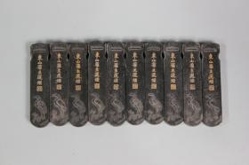 东山旧主徽州老墨厂房库存一两松烟墨 老墨块墨条墨锭 同行拿货价