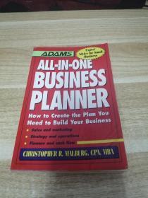 外文书《BUSINESS PLANNER》h2
