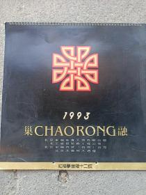 1993年挂历:红楼梦金陵十二钗(全不缺)