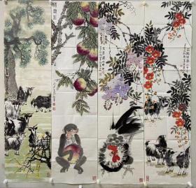 1 刘天庄,祖籍辽宁沈阳,1952年出生于古都西安,现为中国工艺美术家协会会员、陕西省美术家协会会员、西安美术家协会会员、西安国画艺术研究院画家、三秦文化研究会书画院花鸟研究会副会长。