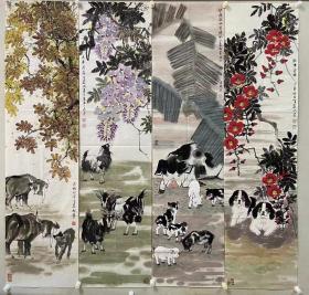 2 刘天庄,祖籍辽宁沈阳,1952年出生于古都西安,现为中国工艺美术家协会会员、陕西省美术家协会会员、西安美术家协会会员、西安国画艺术研究院画家、三秦文化研究会书画院花鸟研究会副会长。