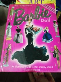 英文原版 精装大16开 The Collectible Barbie Doll