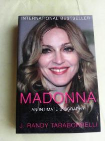 Madonna: An Intimate Biography      麦当娜传    英文原版  内有插页