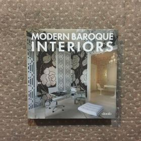 MODERN BAROQUE INTERIORS 《現代巴洛克風格室內設計》 英德語雙語本。布面精裝帶書衣