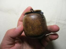 老木头烟丝盒