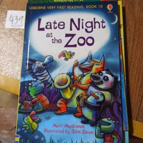 Late Night athe Zoo   USBORNE  VERY FIRST READING: BOOK 10