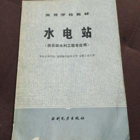 水电站 (供农田水利工程专业用)