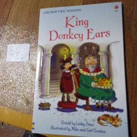 USBORNE FIRST READING   King Donkey Ears