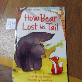 How Bear Lost his Tail    USBORNE  FIRST READING